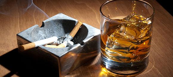 アルコールや喫煙はできる限り控える