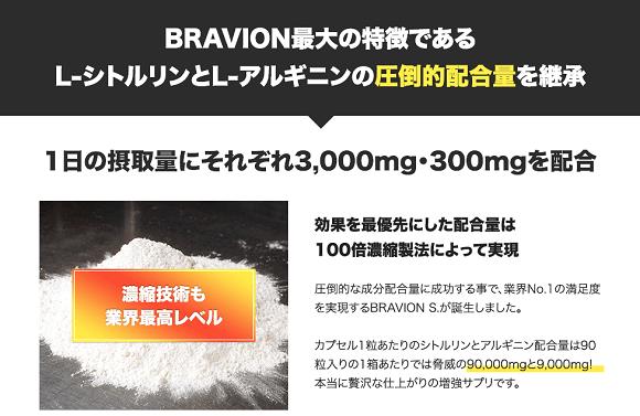 ブラビオンSに含まれている成分