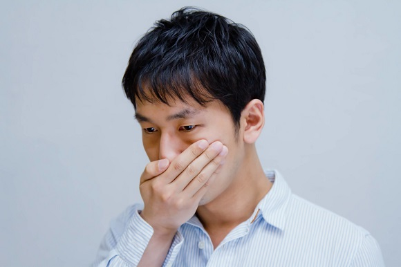 男性の口臭