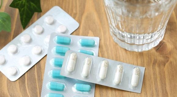 カプセルと錠剤