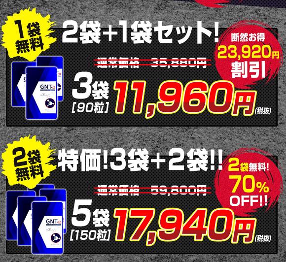 GNT-αのキャンペーン