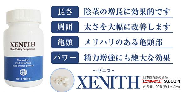 ゼニス(XENITH)